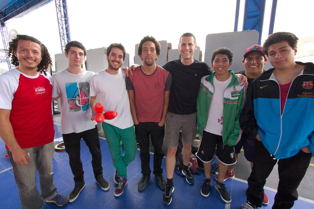 99 Random Photos I Forgot to Share Since October 2014: School show in Lima, Peru.