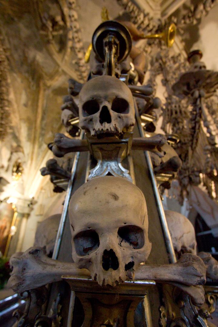 99 Random Photos I Forgot to Share Since October 2014: Sedlac Bone Ossuary.