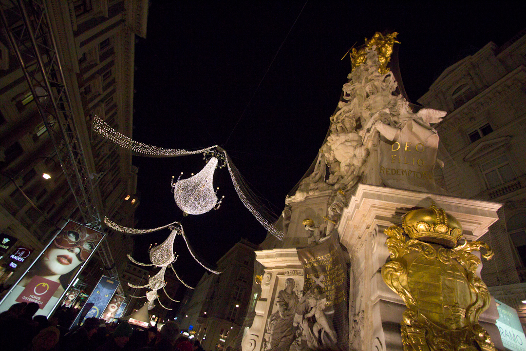 99 Random Photos I Forgot to Share Since October 2014: New Years Eve in Vienna.