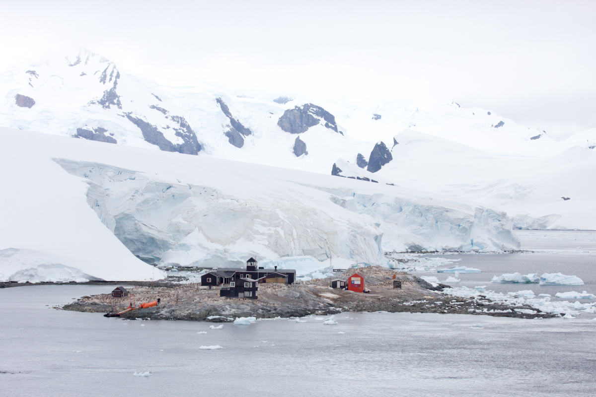 January 2016 Antarctica and Falklands: Chilean Antarctica Base