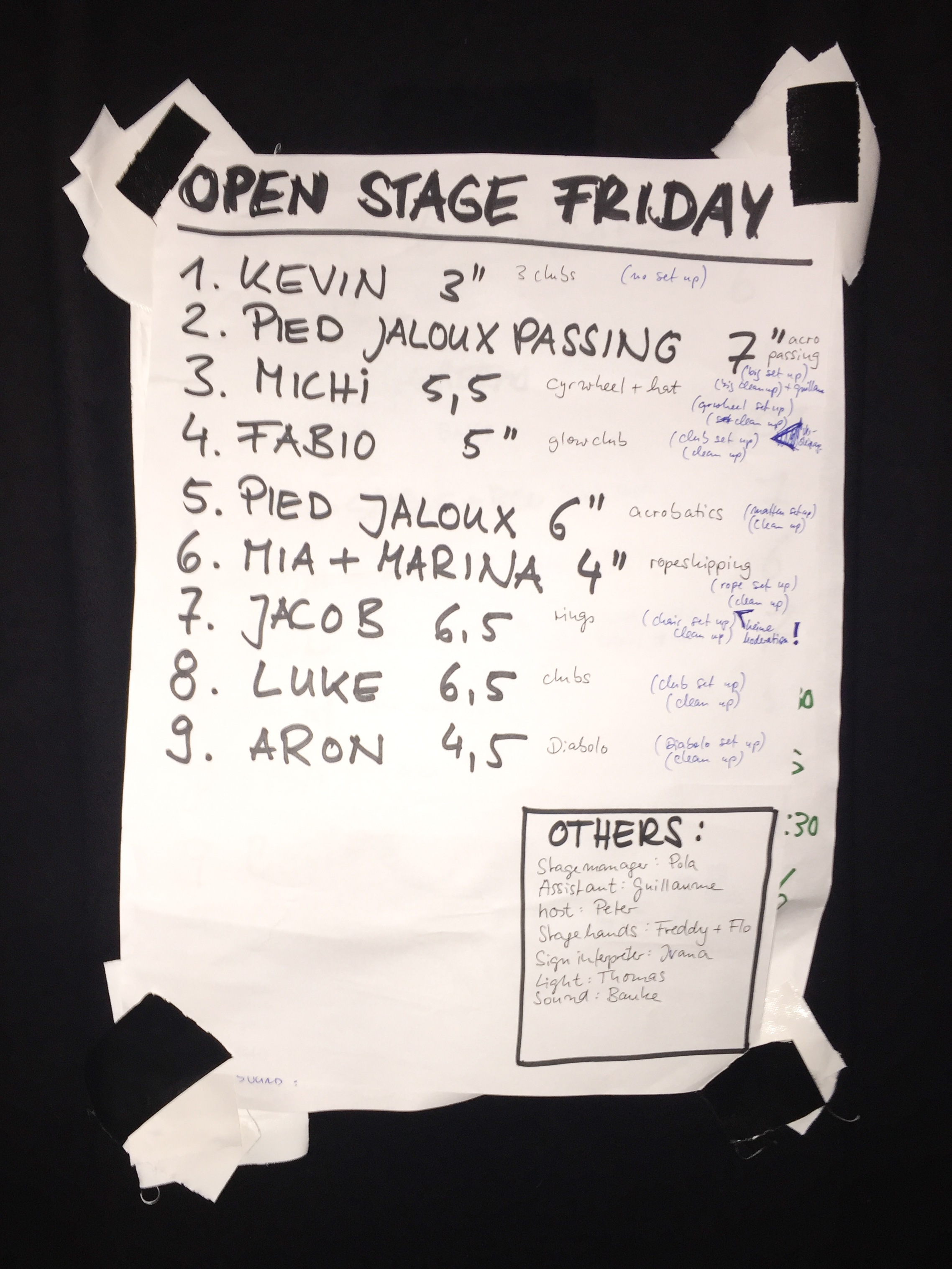 EJC 2016 Almere Days 6 and 7 - Diabolo Battle and Friday Open Stage: Friday Open Stage.