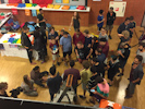 EJC 2016 Almere Days 6 and 7 - Diabolo Battle and Friday Open Stage: Ofek Snir 5 ball world record attempt.