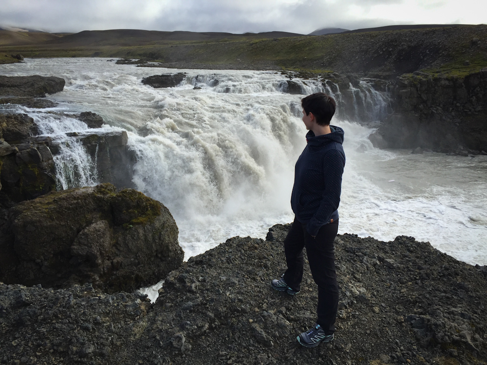 Iceland Adventure with Juliane and Luke: Random waterfall