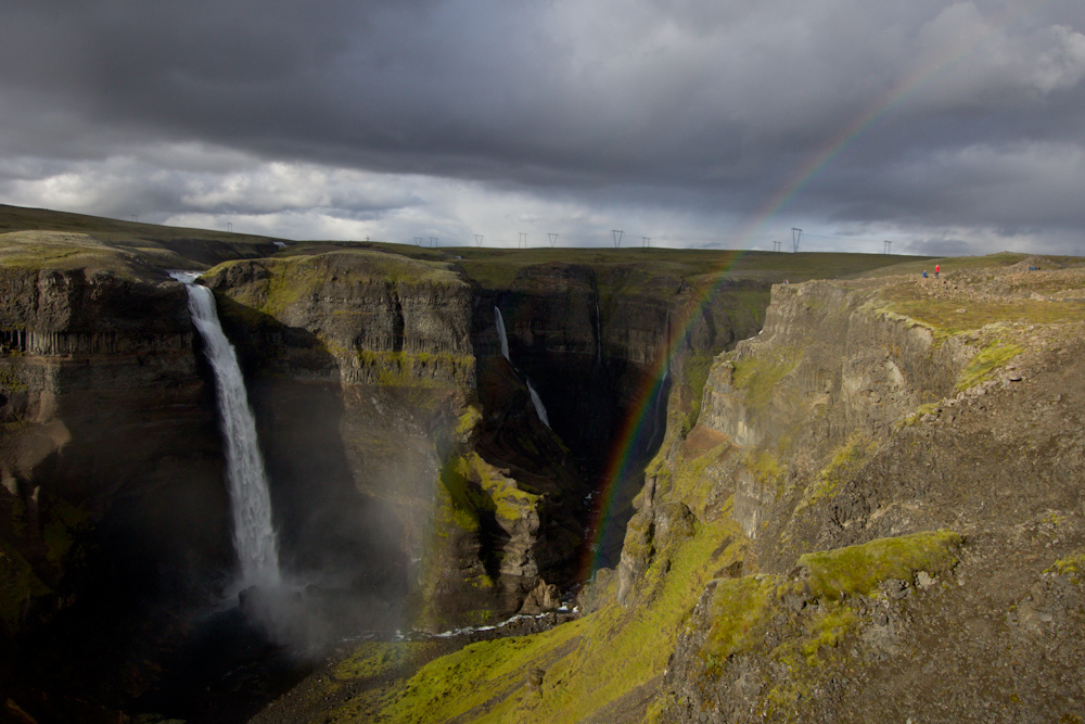 Iceland Adventure with Juliane and Luke: Haifoss