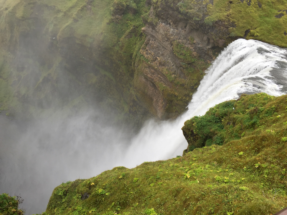 Iceland Adventure with Juliane and Luke: Skogarfoss