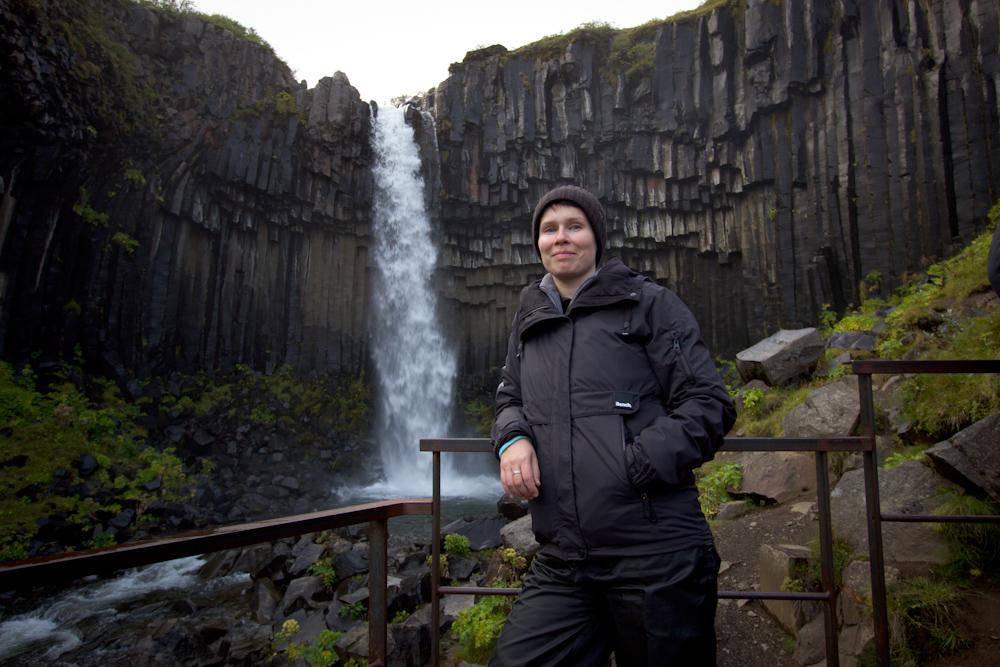 Iceland Adventure with Juliane and Luke: Svartifoss