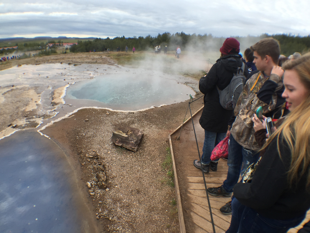 Iceland Adventure with Juliane and Luke: Geysir