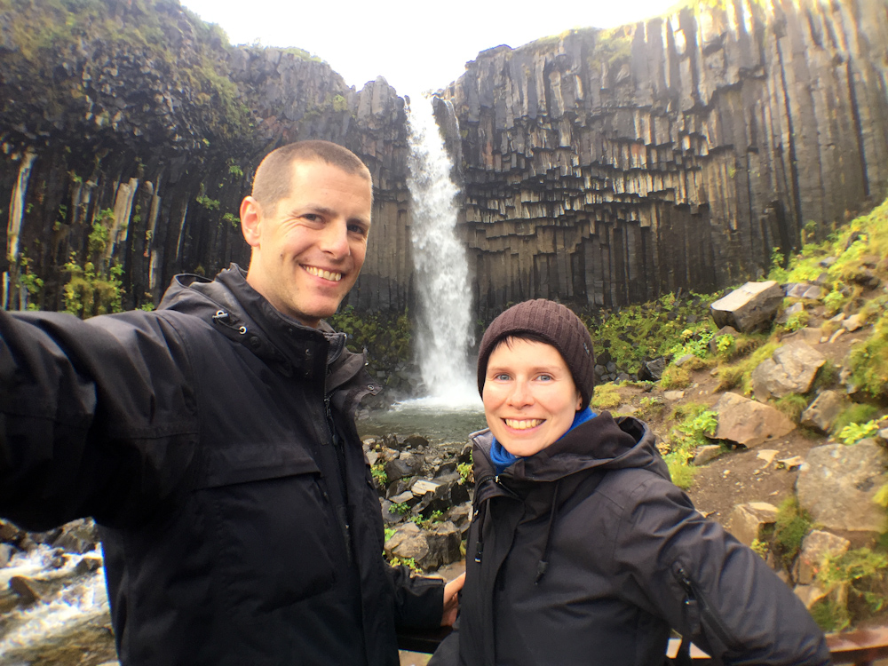 Iceland Adventure with Juliane and Luke: Svartifoss