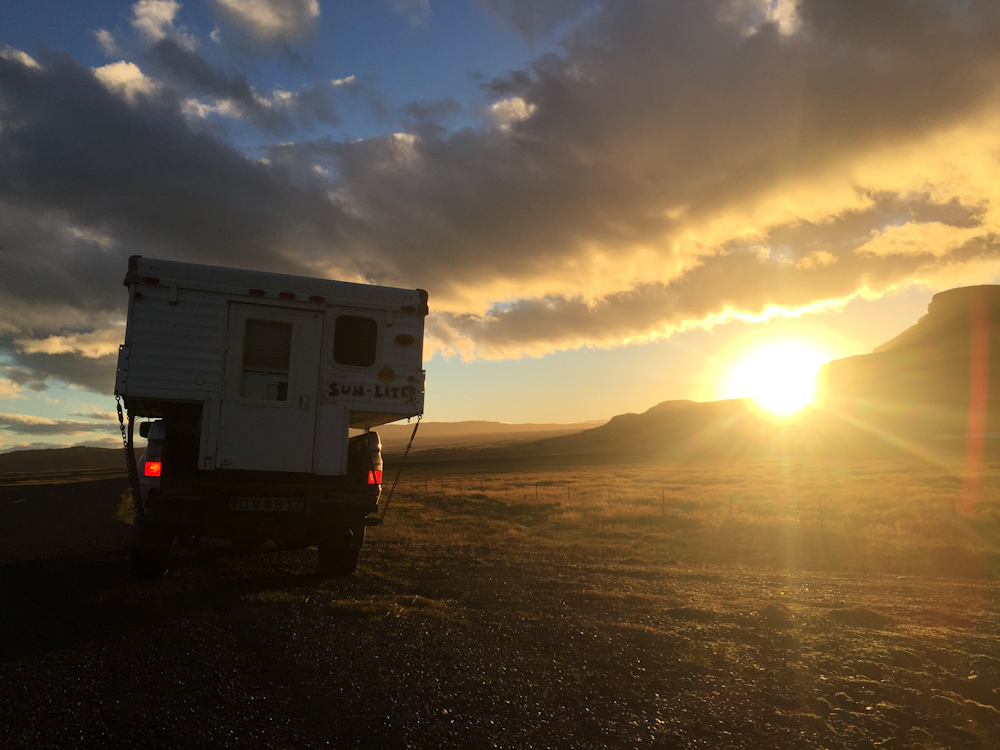 Iceland Adventure with Juliane and Luke: The 1 at sunset