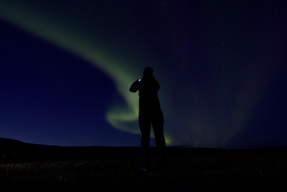 Iceland Adventure with Juliane and Luke: Northern Lights Photo Session