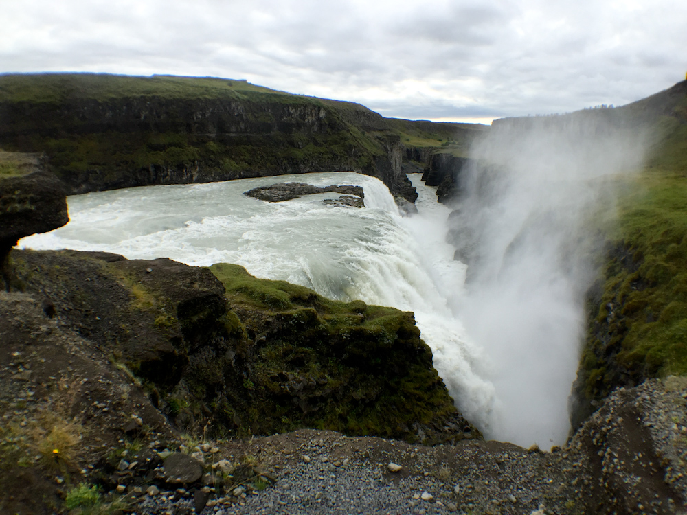 Iceland Adventure with Juliane and Luke: Gulfoss