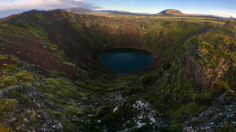 Iceland Adventure with Juliane and Luke: Kerid