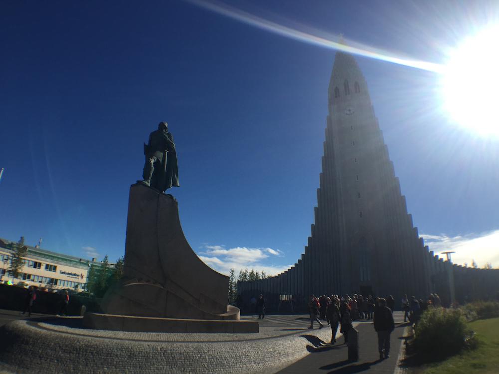 Iceland Adventure with Juliane and Luke: Halgrimskirkja