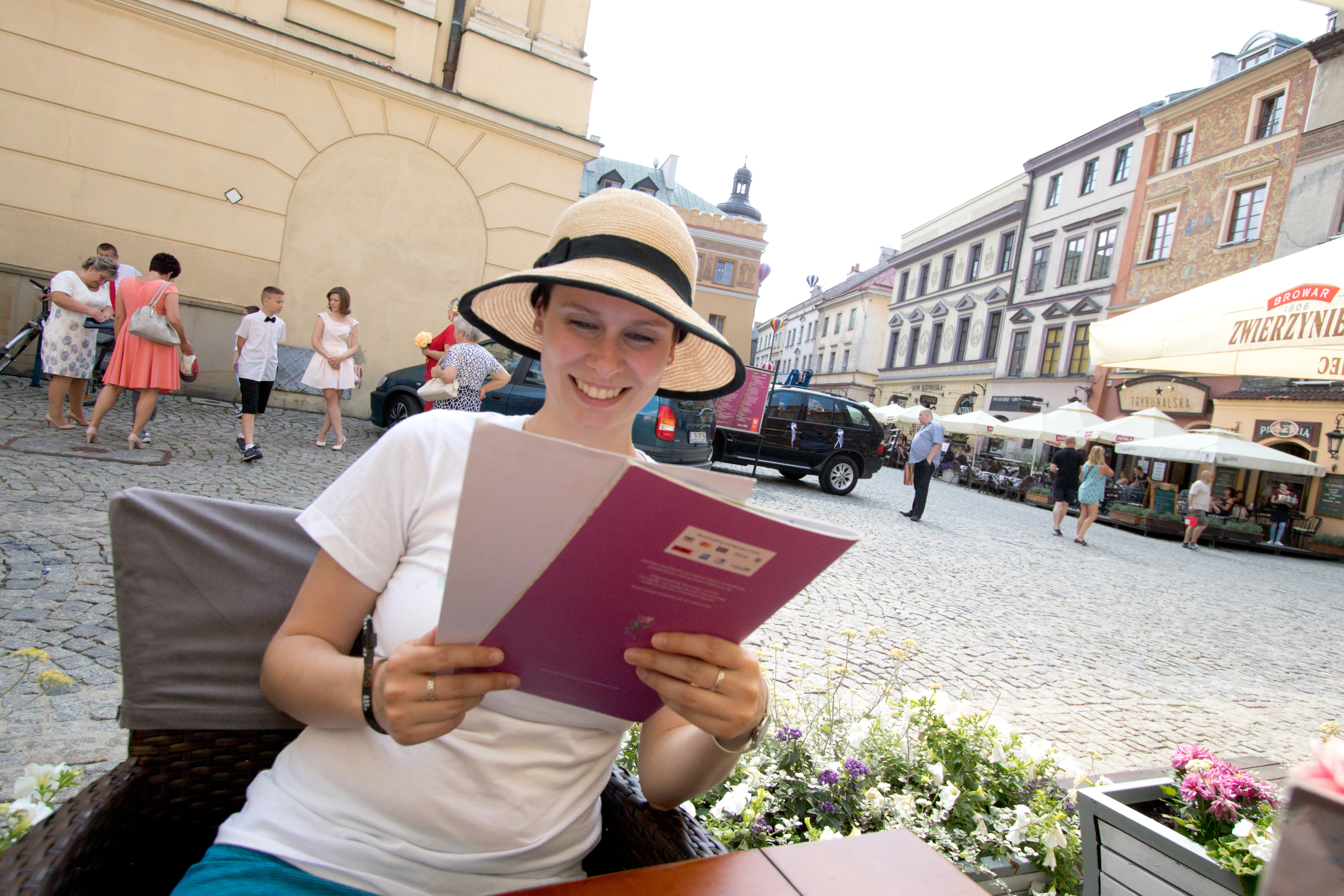 EJC 2017 Lublin Day 1: Exploring with Juliane.