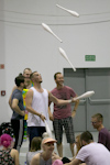 EJC 2017 Lublin Day 2: Main hall juggling.