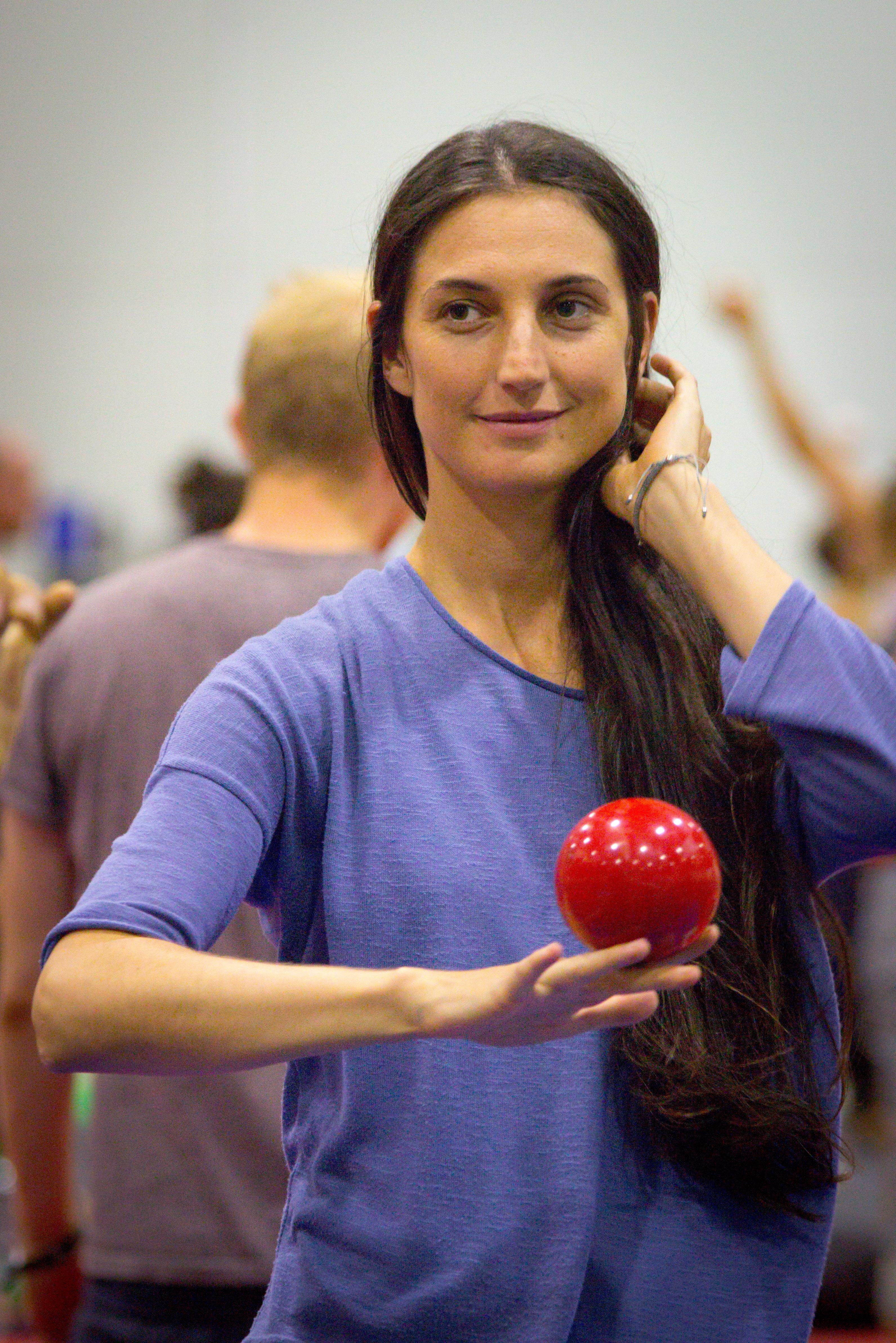 EJC 2017 Lublin Day 4: Main hall juggling.