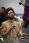 EJC 2017 Lublin Day 4: Main hall juggling.