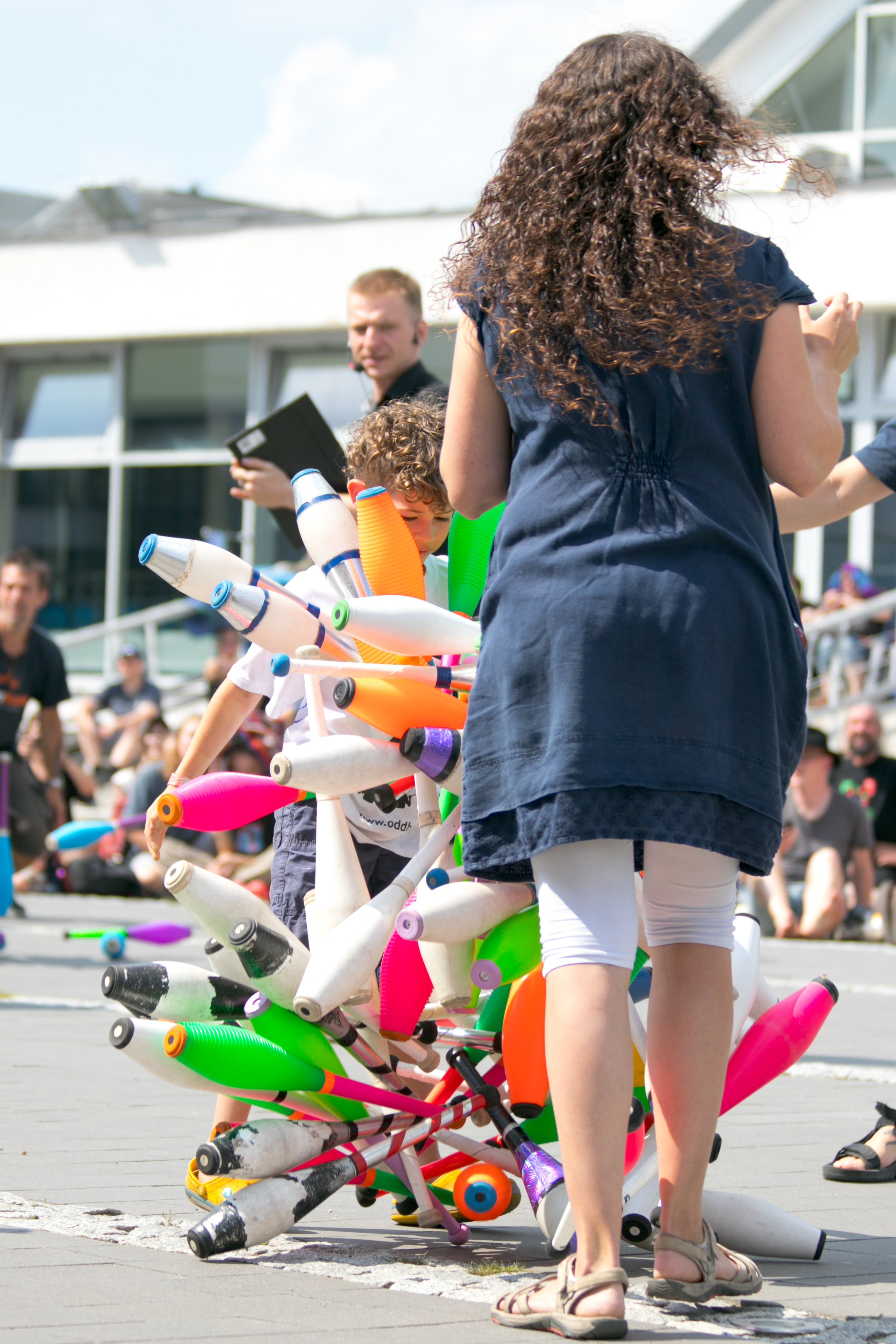 EJC 2017 Lublin Day 8: Juggling Games.