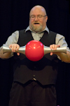 Catch Festival 2018: David Cain's History of Juggling Tricks Show.