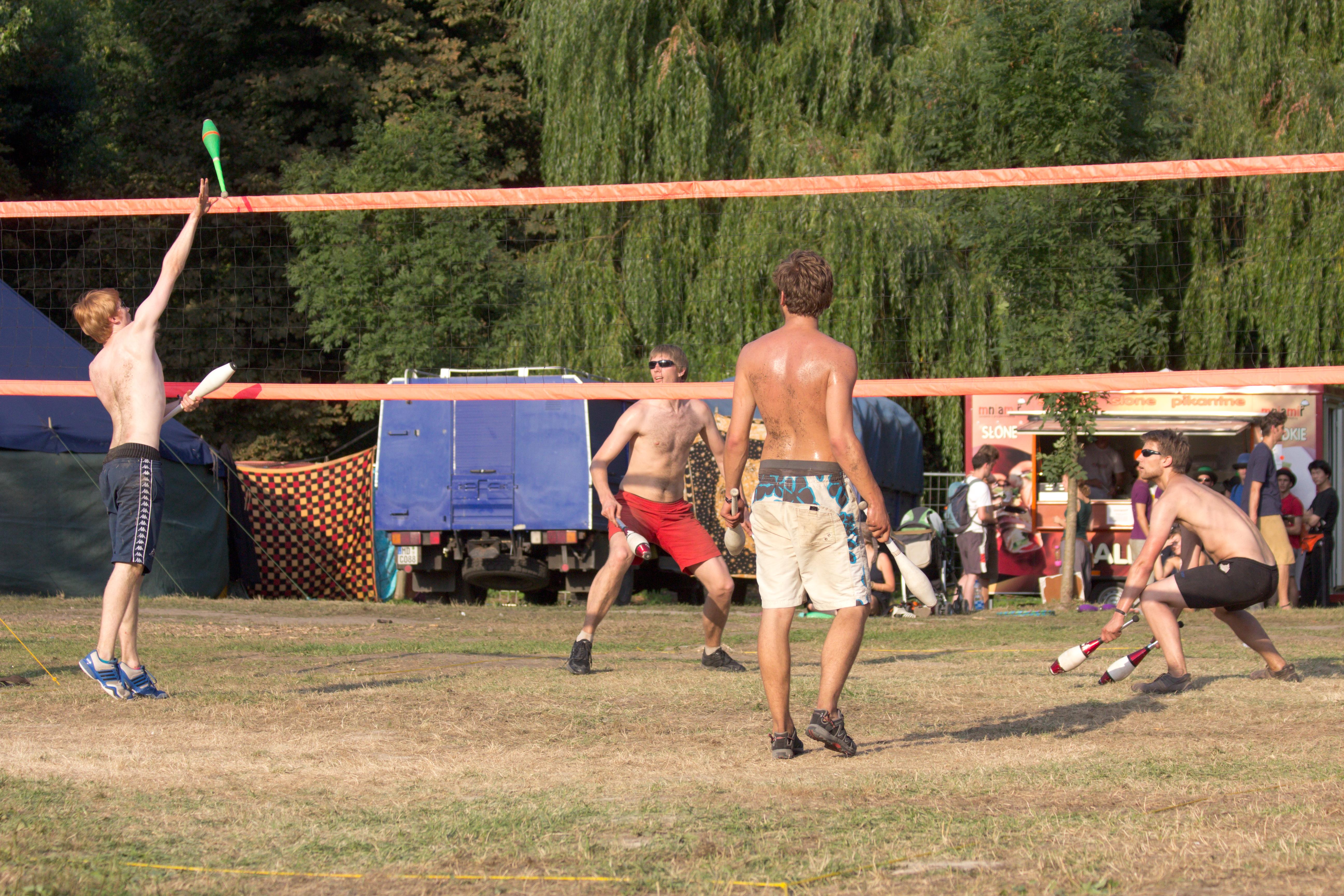 EJC 2012 day 6: Volleyclub Tournament finals.