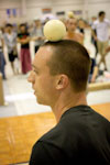 EJC 2012 day 4: Late night ball-on-head session.