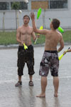 EJC 2012 day 2: Playing in the rain.