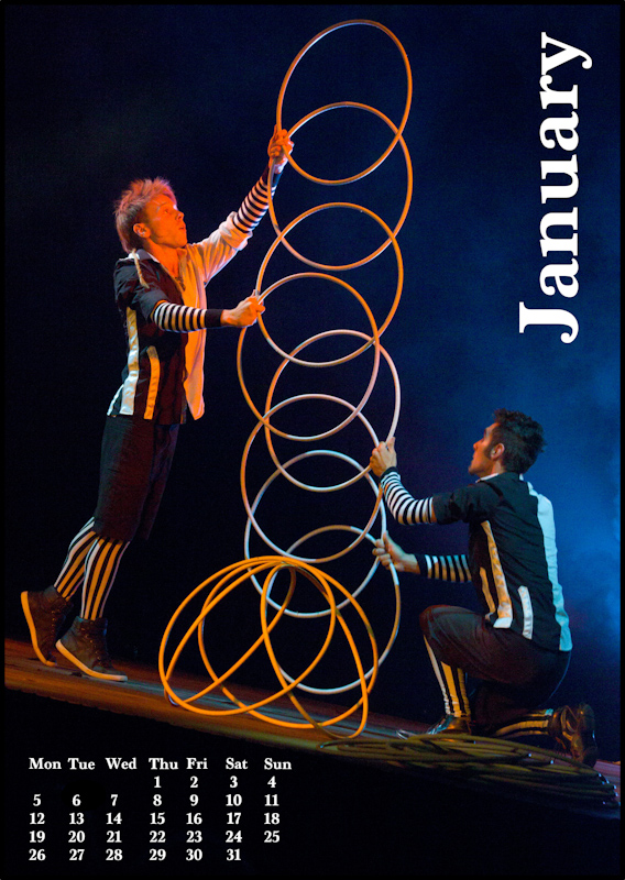 Jugglers' Calendar 2015: January