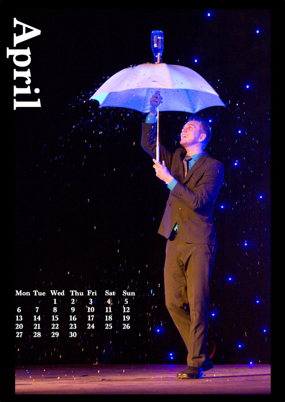 Jugglers' Calendar 2015: April