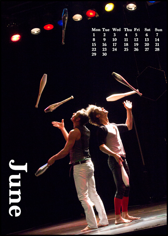 Jugglers' Calendar 2015: June