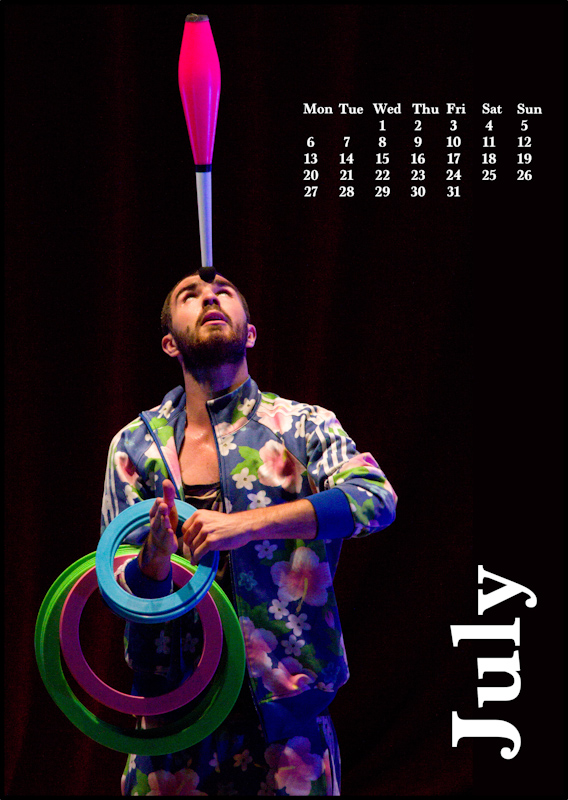 Jugglers' Calendar 2015: July
