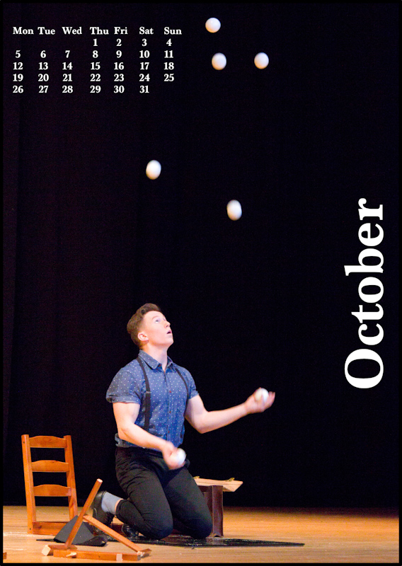 Jugglers' Calendar 2015: October