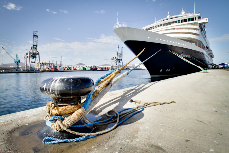 The Prinsendam: Lanzarote, Canary Islands.