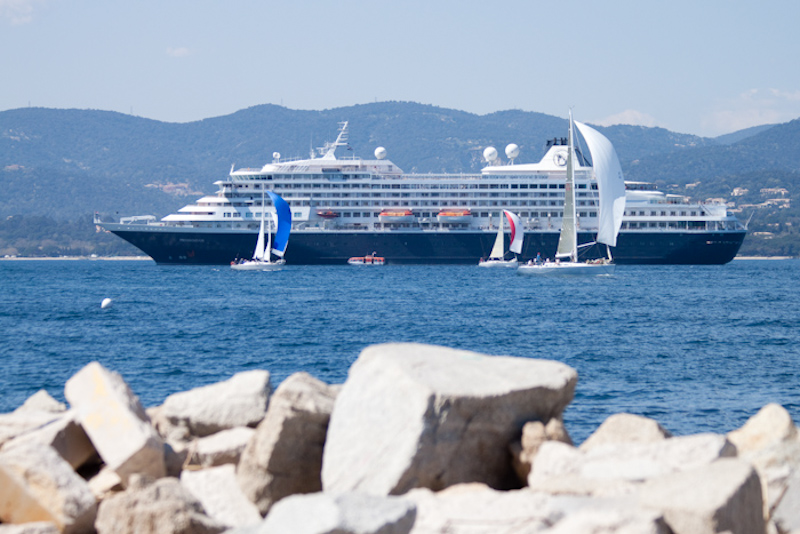 The Prinsendam: St. Tropez, France.