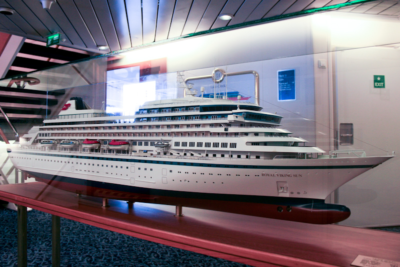 The Prinsendam: The Prinsendam was first called the Royal Viking Sun.