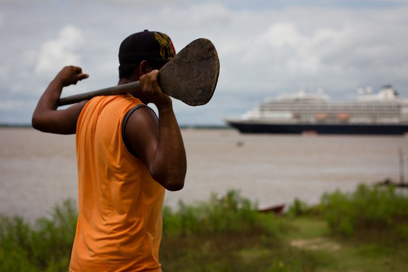 The Prinsendam: On the Amazon River, Brazil.